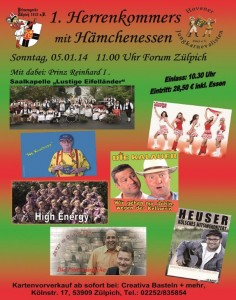Herrenkommers Plakat (2)